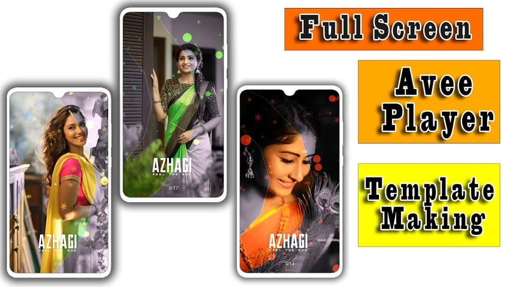 New Avee Player template 2020 full screen in tamil | avee player template download link