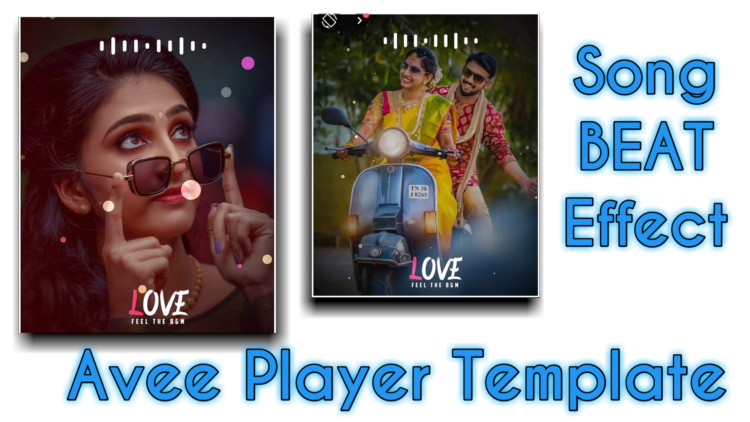 Song BEAT Effect | Avee player Template | Avee player Tutorial Tamil | Tamil vra Tech