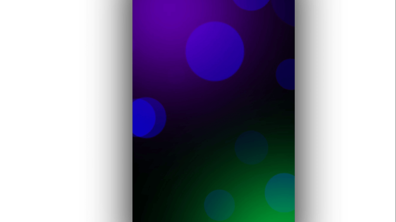 Colorful background with blue bubble black screen template | Awesome Avee Player Black Screen Template | Template World