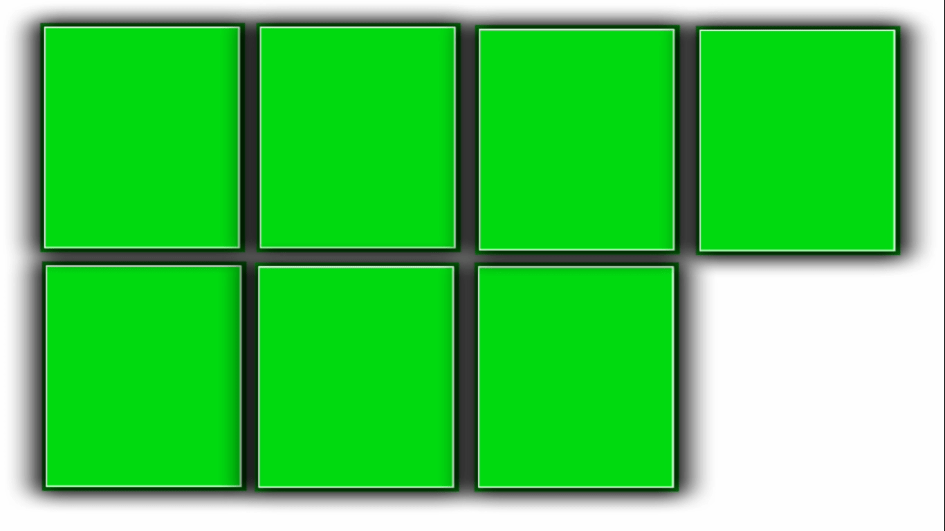 Puzzle green screen video   Kinemaster green screen template   birthday template
