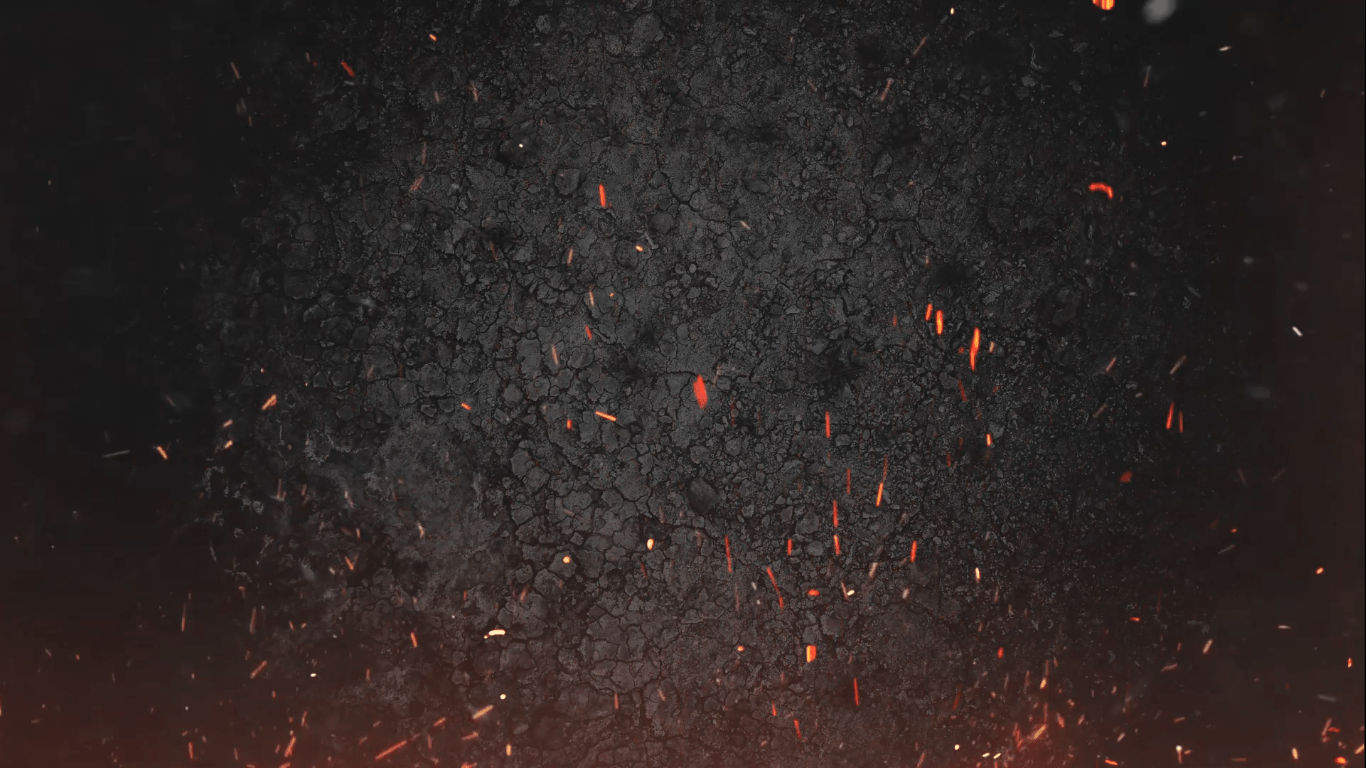 Fire Dust Particles Sparks Black Screen Effects Background   Fire with dust Prticels black screen