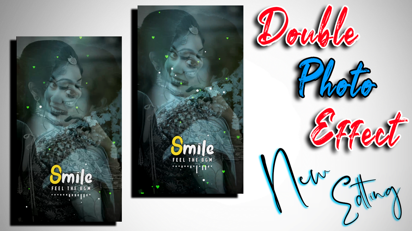 Avee Player Doubble Photo effect | Avee player template download full screen | Tamil vra Tech
