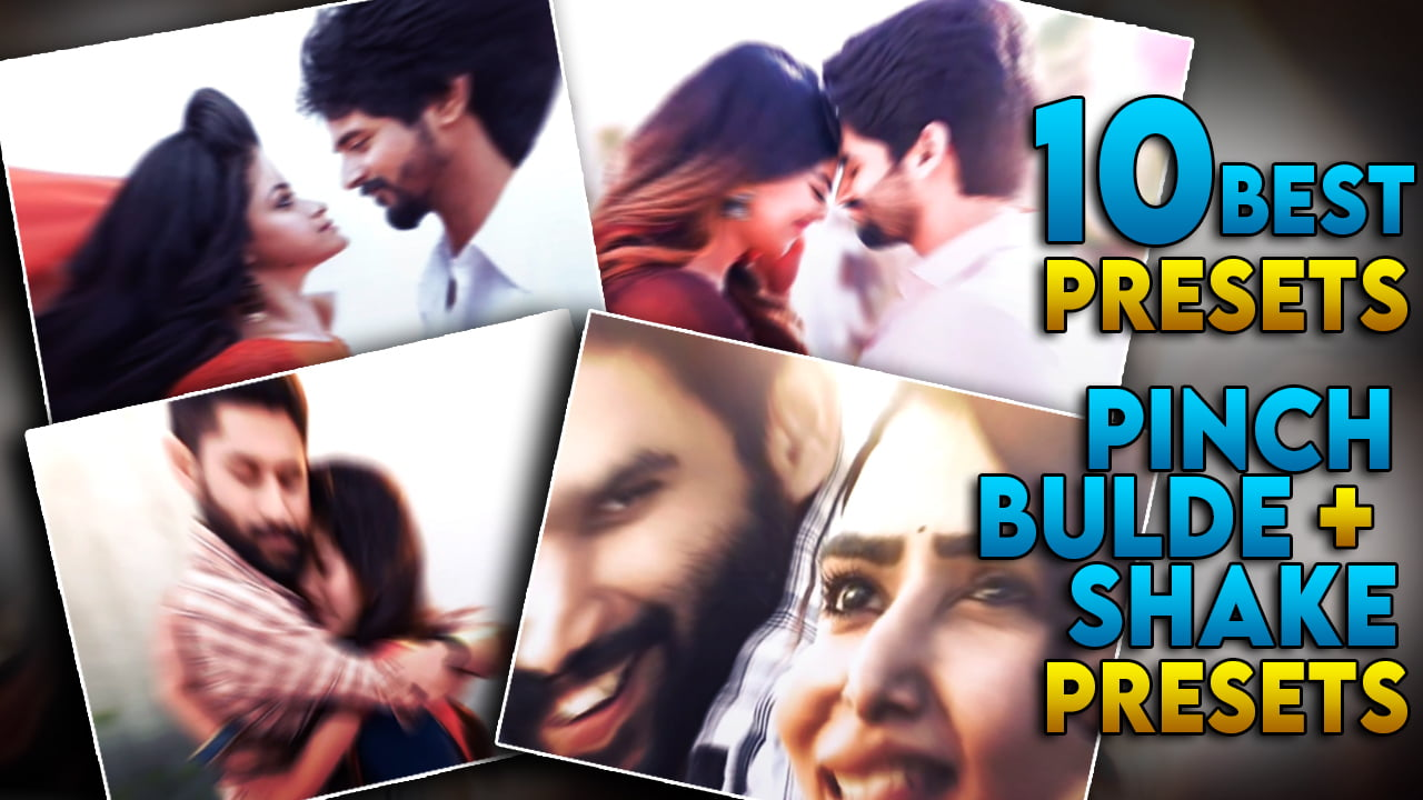 BEST 10 PINCH/BULGE SHAKE EFFECT PRESETS IN ALIGHT MOTION | PRESETS#1018